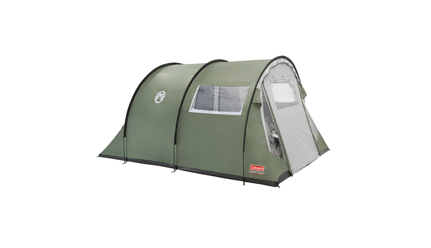 Coleman Coastline 4 Deluxe tent groen